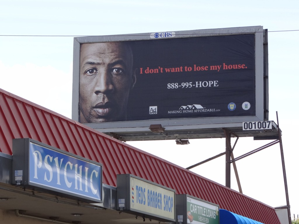 Foreclosure Billboard by Noelle Stout